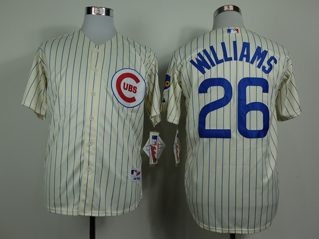 MLB Chicago Cubs 26 Williams Gream 1969 Turn The Clock Jersey