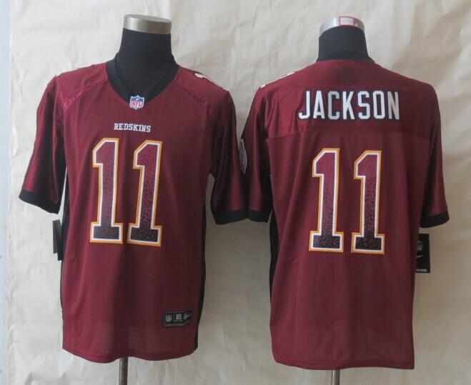 Washington Red Skins 11 Jackson Drift Fashion Red 2014 New Nike Elite Jerseys