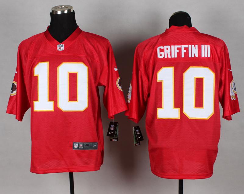 Washington Redskins 10 Robert Griffin III red 2014 nfl QB Nike Jerseys
