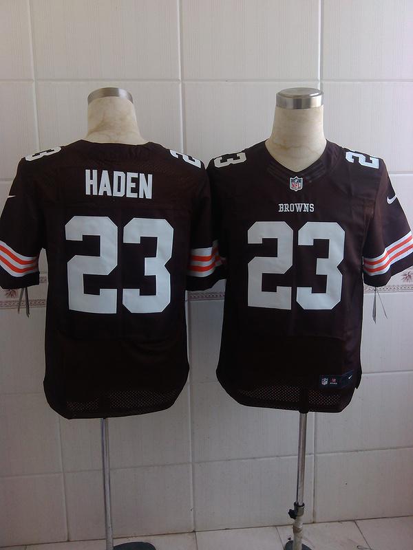 Cleveland Browns 23 Haden Browns 2014 Nike Elite Jerseys