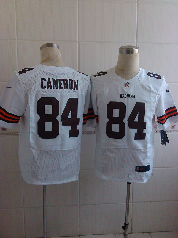 Cleveland Browns 84 Cameron white 2014 Nike Elite Jerseys