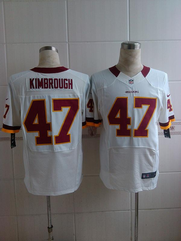 Washington Redskins 47 Kimbrough white 2014 Nike Elite Jerseys