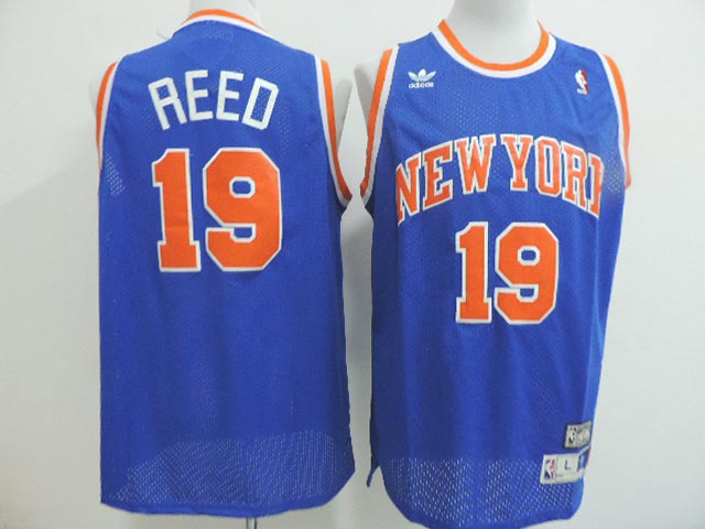 NBA New York Knicks 19 Willis Reed blue 2014 Jerseys