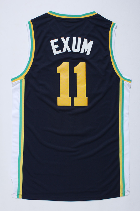 NBA Utah Jazz 11 Exum Blue 2014 Jerseys