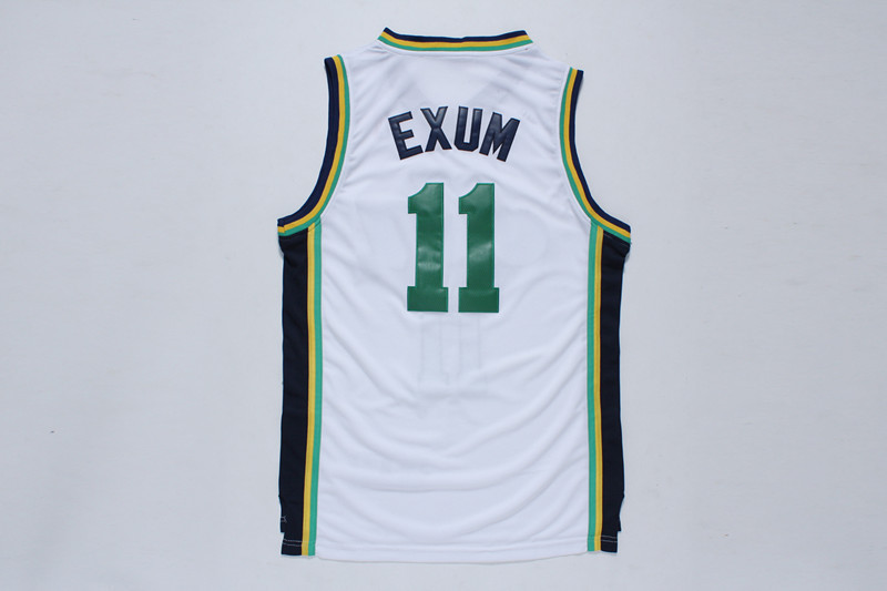 NBA Utah Jazz 11 Exum White 2014 Jerseys