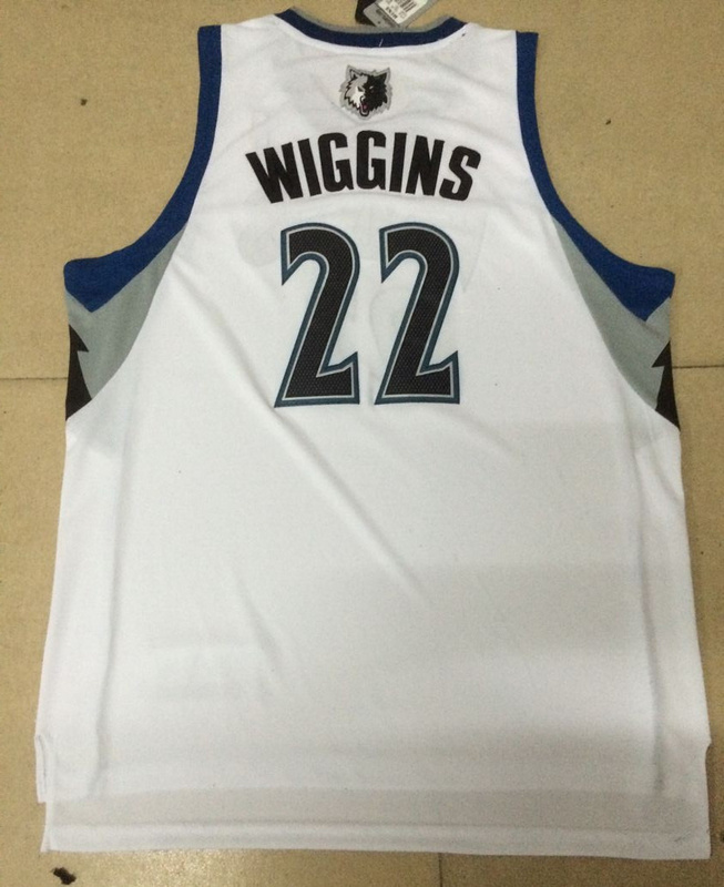 NBA Minnesota Timberwolves 22 Andrew Wiggins White 2014 Jerseys