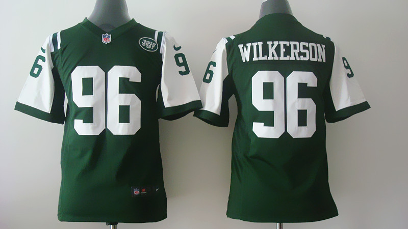 Youth New York Jets 96 Muhammad Wilkerson Green Nike 2014 Jerseys