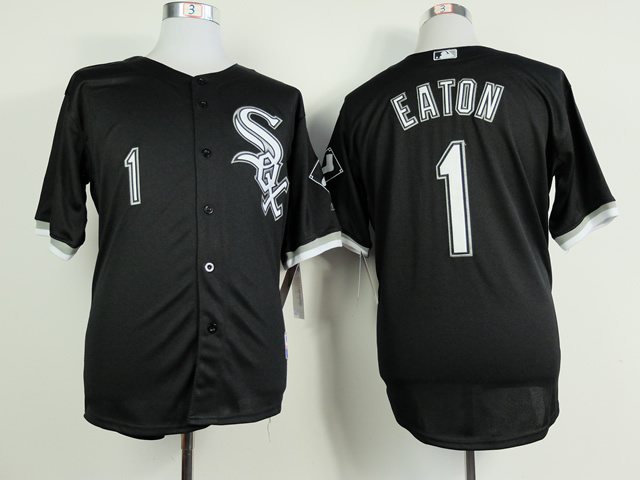 MLB Chicago White Sox 1 Adam Eaton Black 2014 Jerseys