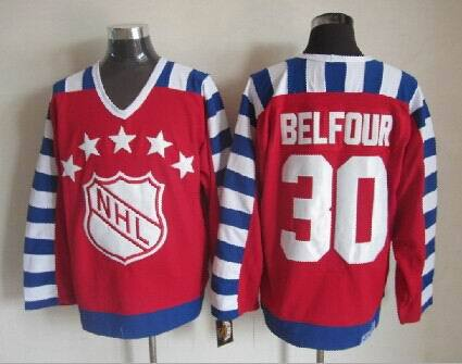 NHL1992 All Star 30 Ed Belfour Red Jerseys