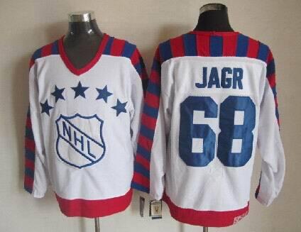NHL1992 All Star 68 Jaromir Jagr White Jerseys