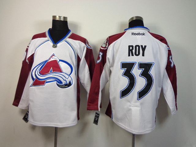 NHL Colorado Avalanche 33 Patrick Roy White 2014 Jersey