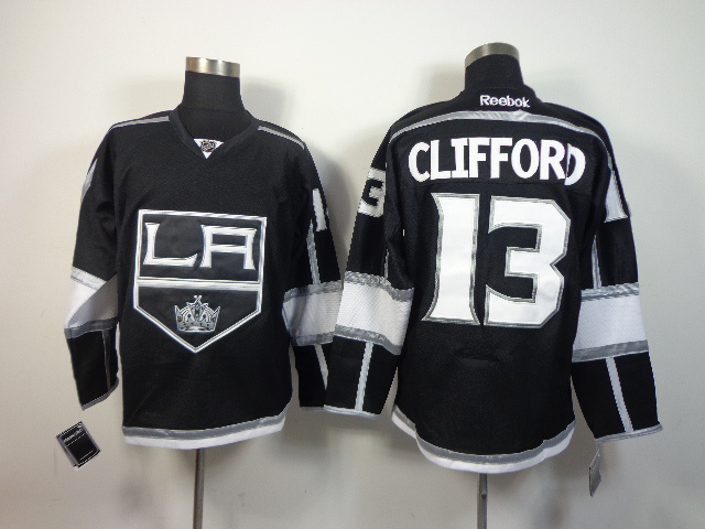 NHL Los Angeles Kings 13 Clifford Black 2014 Jersey