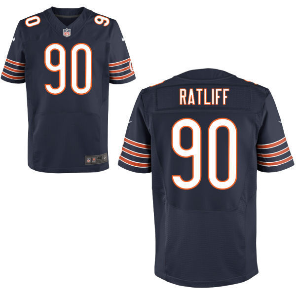 Chicago Bears 90 Jeremiah Ratliff Blue 2014 Nike Elite Jersey