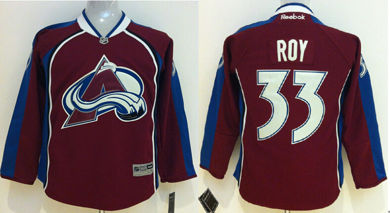 Youth NHL Colorado Avalanche 33 Patrick Roy Red 2014 Jersey