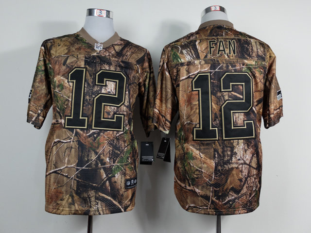 Seattle Seahawks 12 Fan Camo 2014 Jerseys