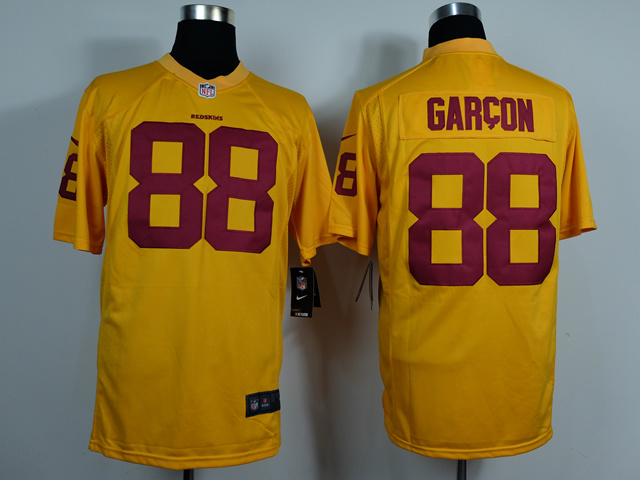 Washington Red Skins 88 Pierre Garcon Gold Game 2014 Jerseys