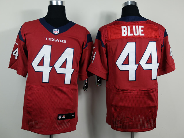 Houston Texans 44 Blue red 2014 New Nike Elite Jerseys