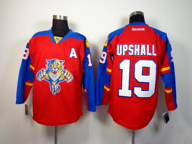 NHL Florida Panthers 19 upshall red 2014 Jerseys