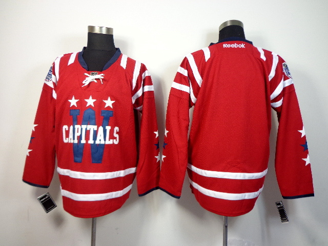 NHL Washington Capitals blank red 2014 Jerseys