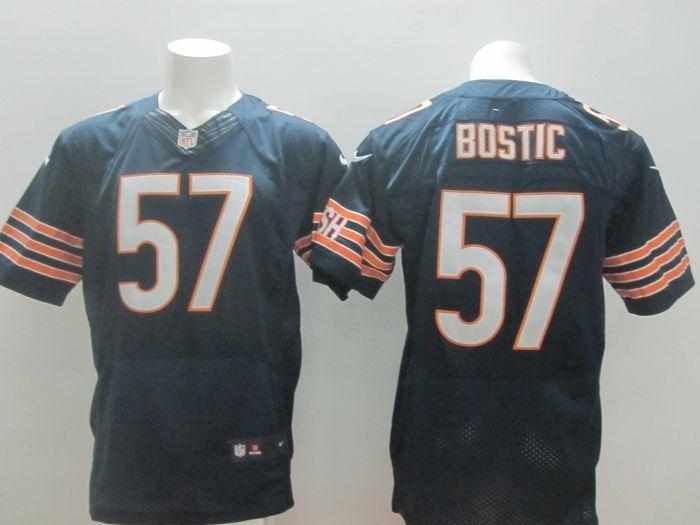 Chicago Bears 57 Jon Bostic Blue 2014 New Nike Elite Jerseys