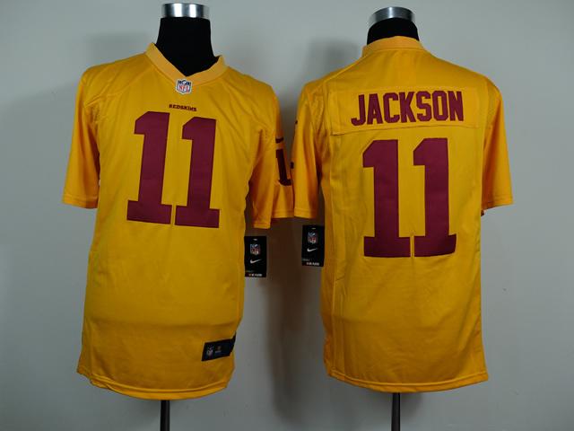 Washington Redskins 11 DeSean Jackson Gold Game Nike 2014 Jerseys