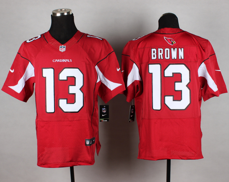 Arizona Cardinals 13 Brown red 2014 New Nike Elite Jerseys