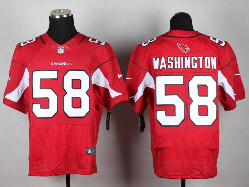 Arizona Cardinals 58 Washington red 2014 New Nike Elite Jerseys