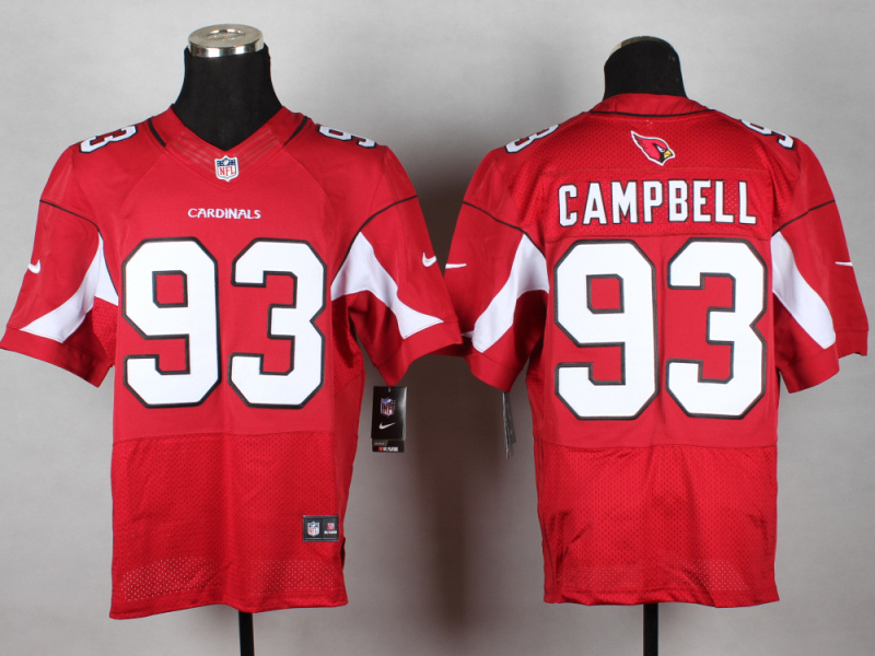 Arizona Cardinals 93 Campbell red 2014 New Nike Elite Jerseys