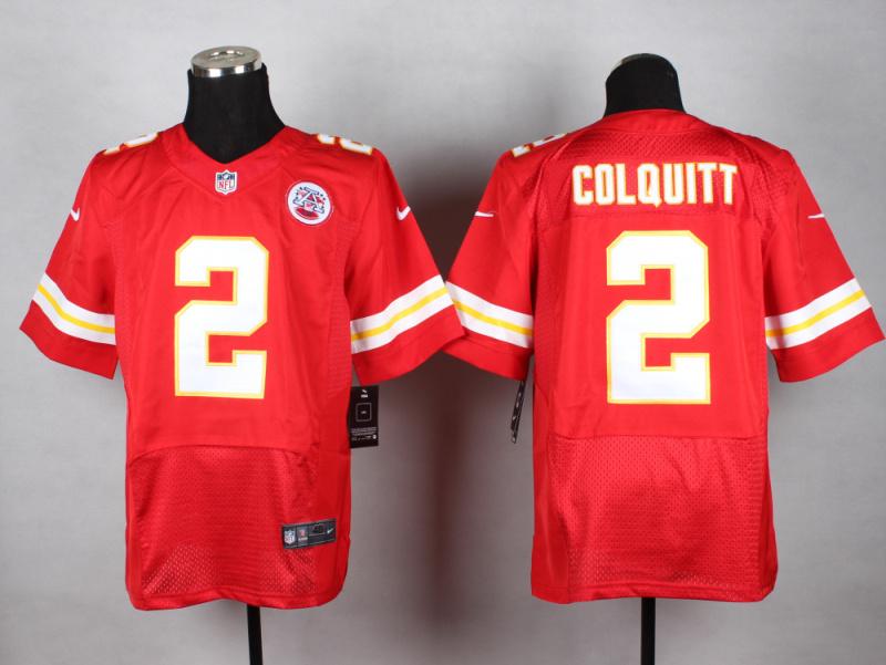 Kansas City Chiefs 2 Colquitt red 2014 New Nike Elite Jerseys