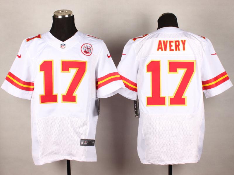 Kansas City Chiefs 17 Avery White 2014 New Nike Elite Jerseys