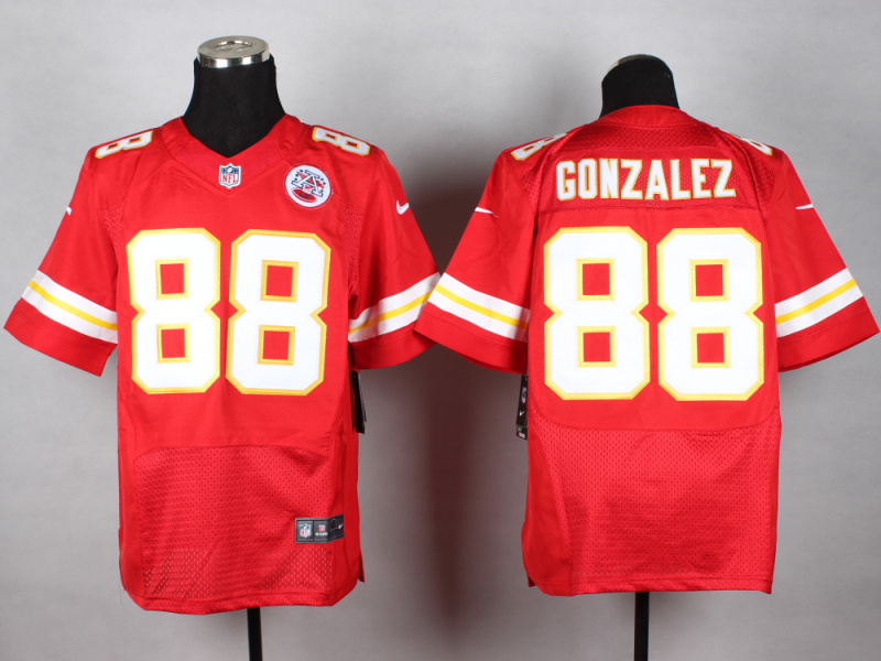 Kansas City Chiefs 88 Gonzalez red 2014 New Nike Elite Jerseys