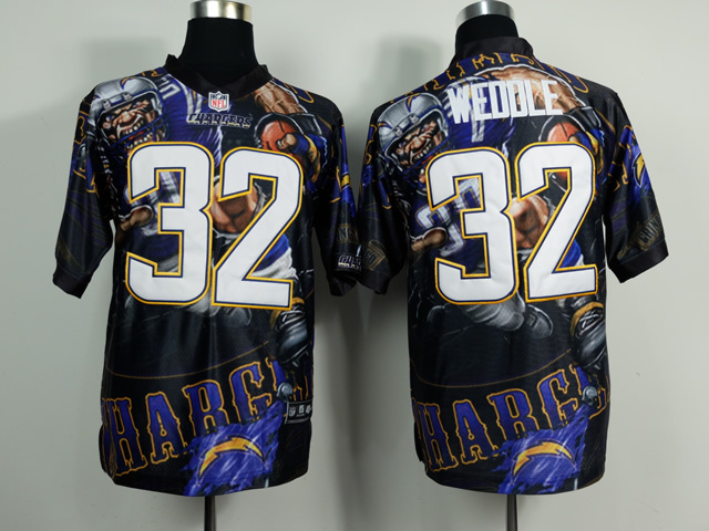 San Diego Chargers 32 Weddle NFL Nike fanatical version Jersey