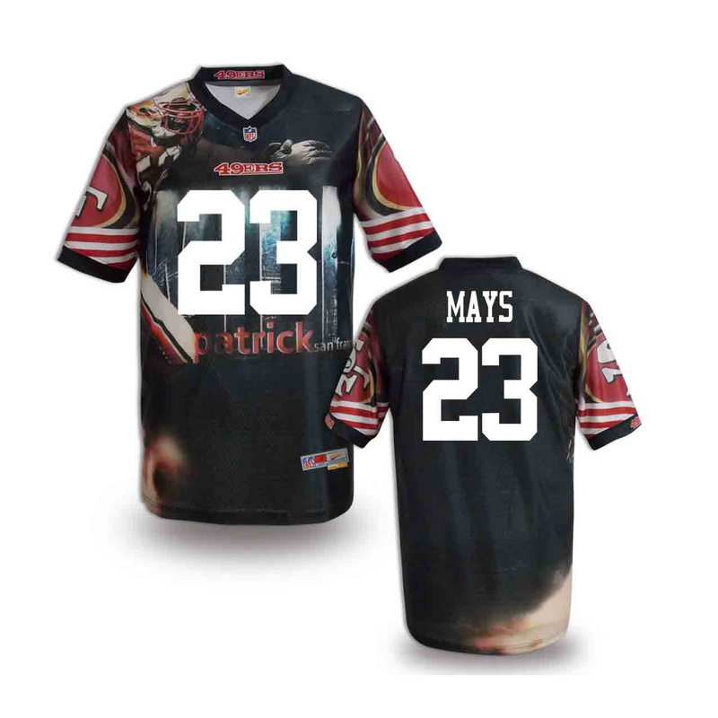 San Francisco 49ers 23 mays NFL fashion version Jersey 11