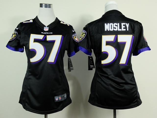 Womens Baltimore Ravens 57 CJ Mosley Black 2014 New Nike Jerseys