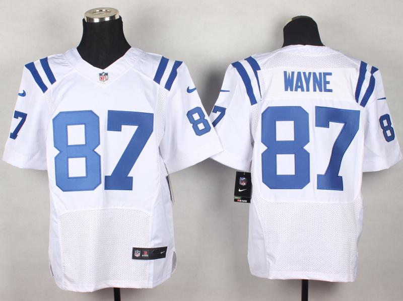 Indianapolis Colts 87 Reggie Wayne White 2014 New Nike Elite Jerseys
