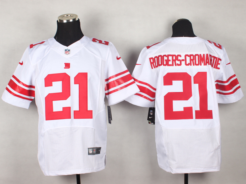 New York Giants 21 Dominique Rodgers-Cromartie White 2014 New Nike Elite Jerseys