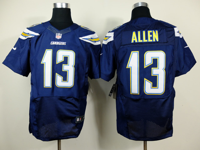 Los Angeles Chargers 13 Keenan Allen Blue 2014 New Nike Elite Jerseys