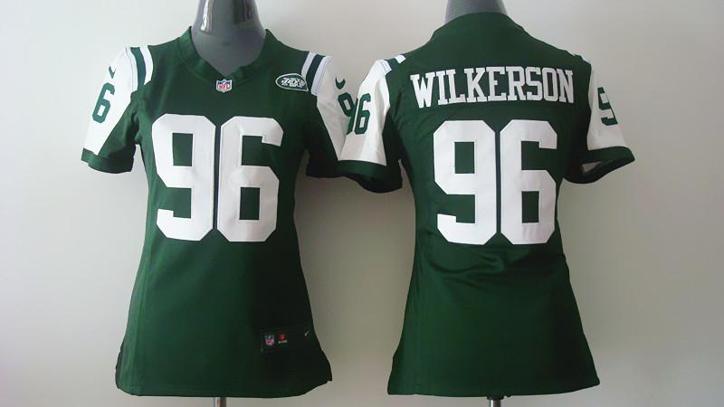 Womens New York Jets 96 Muhammad Wilkerson Green 2014 Nike Jerseys