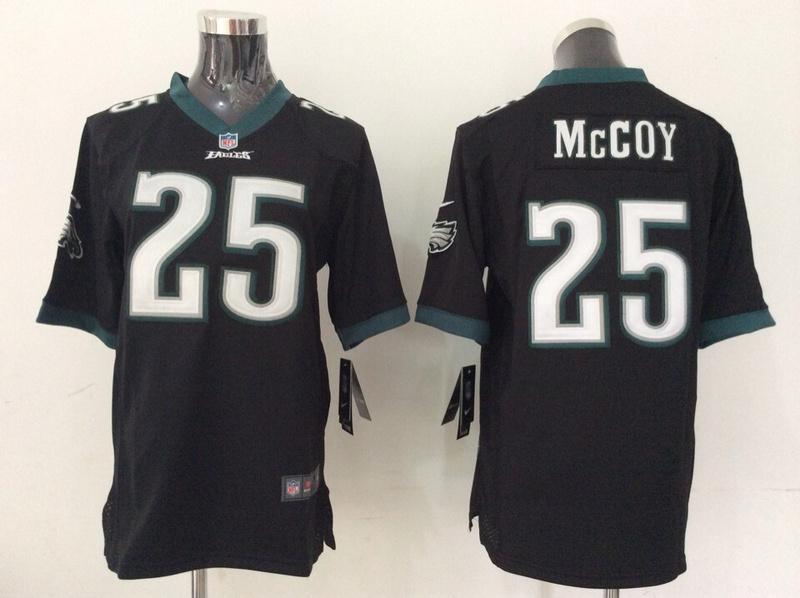 Youth Philadelphia Eagles 25 LeSean McCoy Black 2014 Nike Jerseys