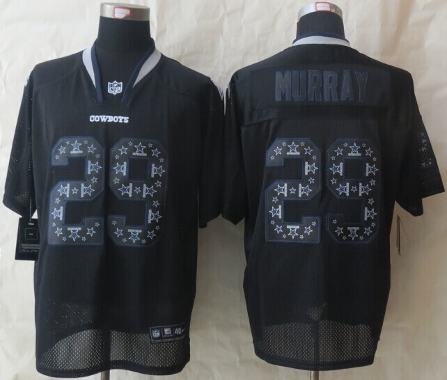 Dallas cowboys 29 Murray Lights Out Black 2014 New Nike Elite Jerseys