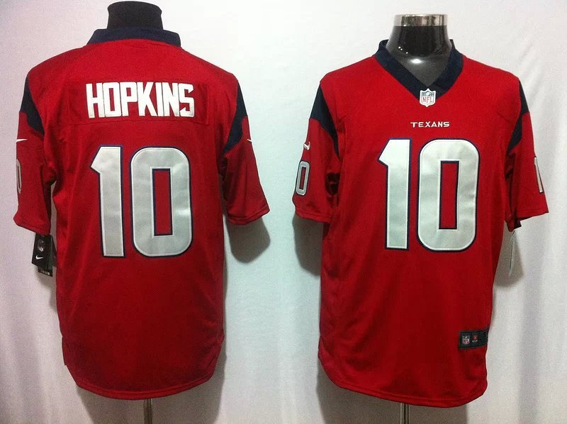 Houston Texans 10 Hopkins red Game 2014 Nike Jerseys