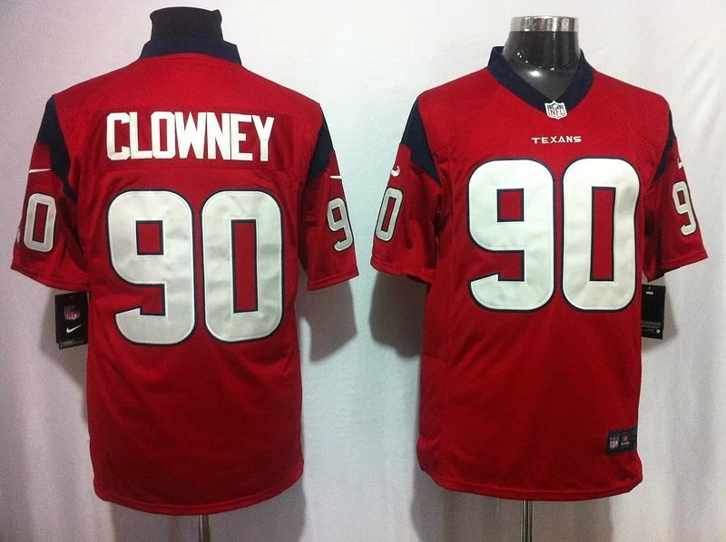 Houston Texans 90 Clowney red Game 2014 Nike Jerseys