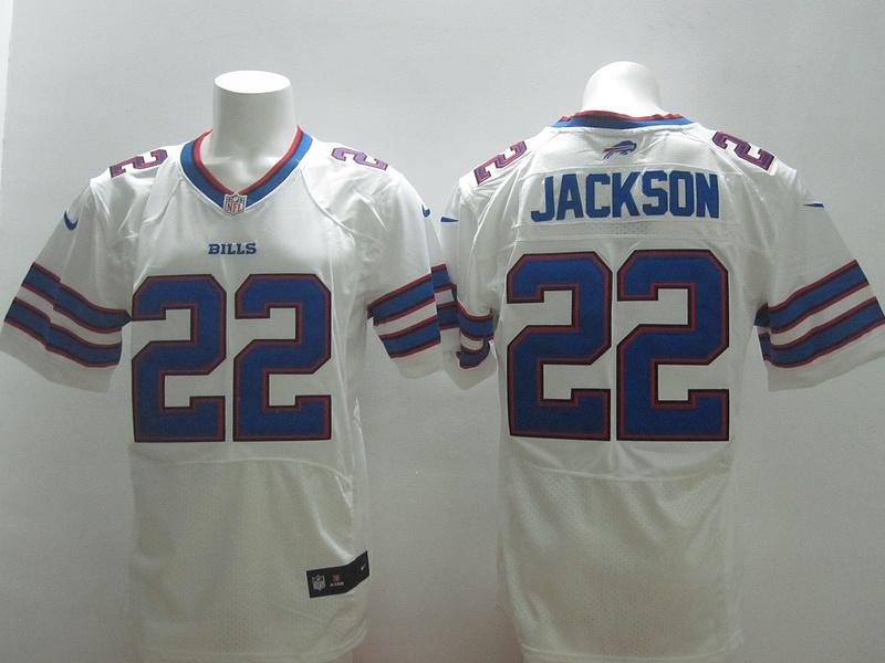 Buffalo Bills 22 Jackson White 2014 New Nike Elite Jerseys