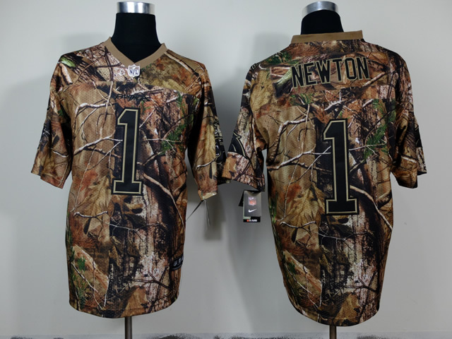 Carolina Panthers 1 Newton Camo 2014 Nike Jerseys
