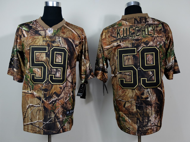 Carolina Panthers 59 Kuechly Camo 2014 Nike Jerseys