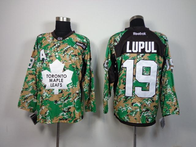 NHL Toronto Maple Leafs 19 Joffrey Lupul Camo 2014 Jerseys