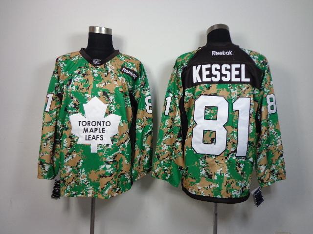 NHL Toronto Maple Leafs 81 Phil Kessel Camo 2014 Jerseys