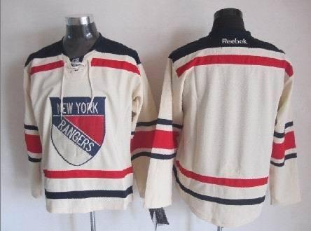 NHL New York Rangers Blank Gream 2014 Jerseys