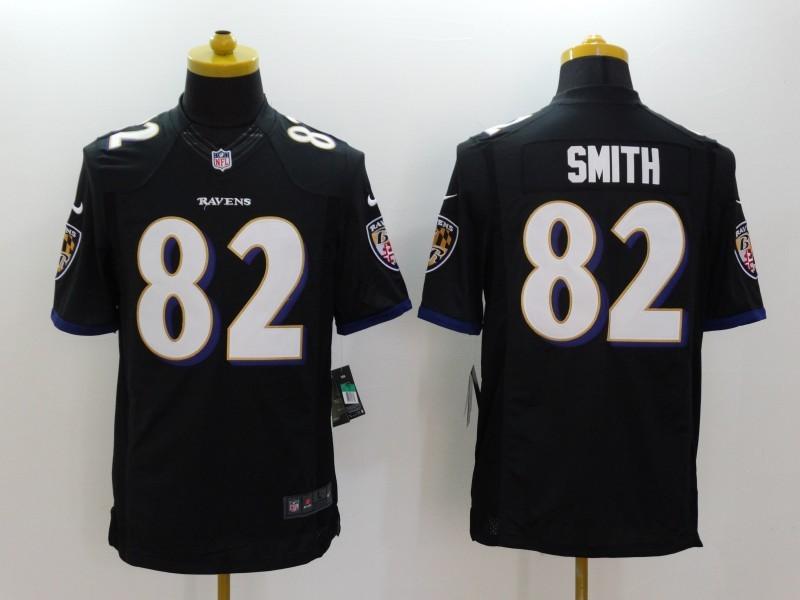Baltimore Ravens 82 Torrey Smith Black 2014 Nike Limited Jerseys