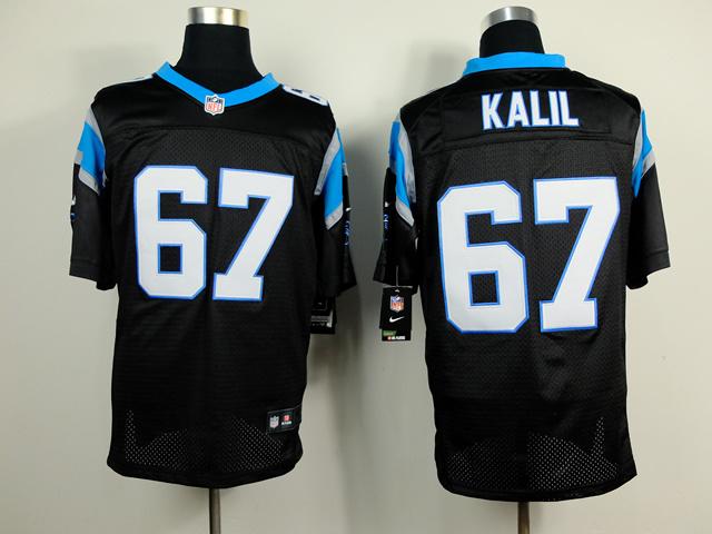 Carolina Panthers 67 Kalil Black 2014 Nike Elite Jerseys